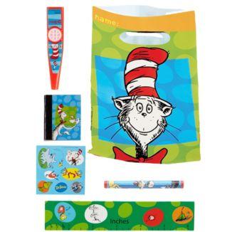 Dr. Seuss Basic Favor Kit for 8 Guests