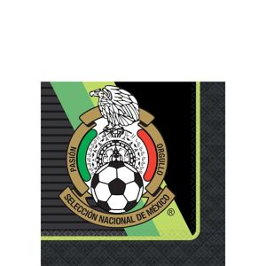 Mexico National Team Beverage Napkins 16ct