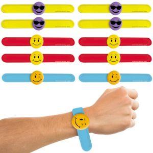 Smiley Slap Bracelets 24ct