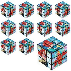 Little Mermaid Puzzle Cubes 24ct
