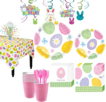 Eggstravaganza Tableware Kit for 8 Guests
