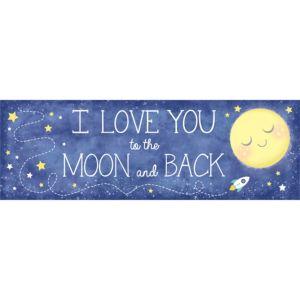 Giant Moon & Stars Banner