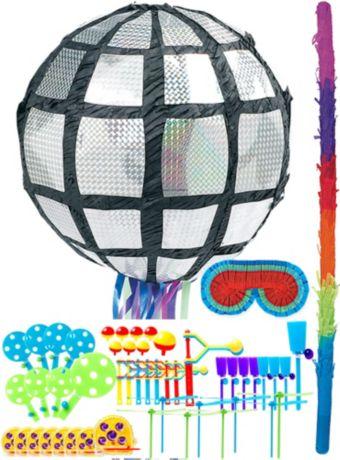 Disco Ball Pinata Kit with Favors