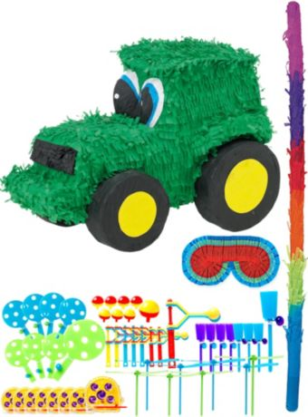 Tractor Pinata Kit with Favors