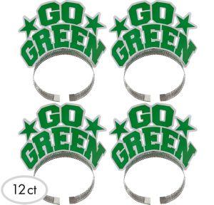 Go Green Headbands 12ct