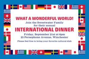 Custom World Flags Invitation