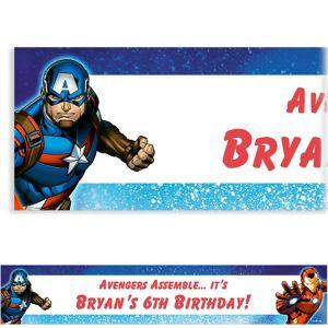 Custom Epic Avengers Banner