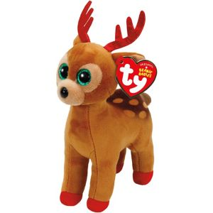 Tinsel Beanie Boo Reindeer Plush