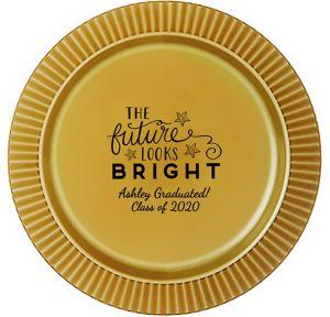 Personalized Graduation Premium Plastic Dinner Plates