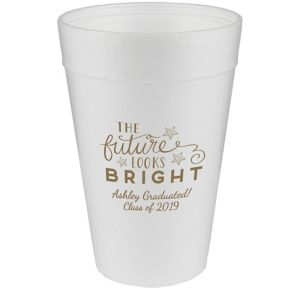 Personalized Graduation Foam Cups 32oz