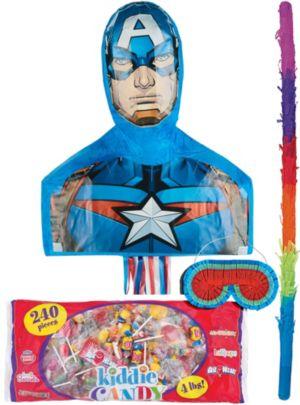 Captain America Pinata Kit