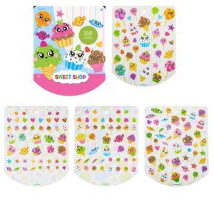 Jumbo Sweet Shop Sticker Book 8 Sheets