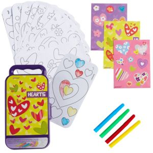 Hearts Sticker Activity Box