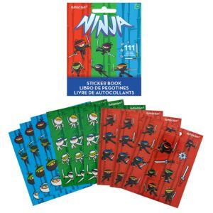 Ninja Sticker Book 9 Sheets