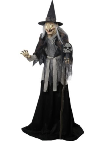 Animated Haggard Witch