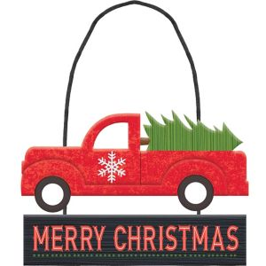 Mini Truck Merry Christmas Sign