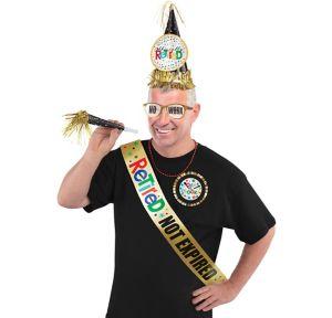 Happy Retirement Celebration Accessory Kit 6pc