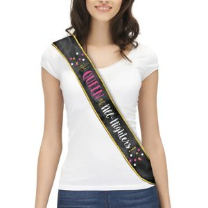 The Queen Of The All-Nighters Sash