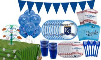 Kansas City Royals Super Party Kit for 16 Guests