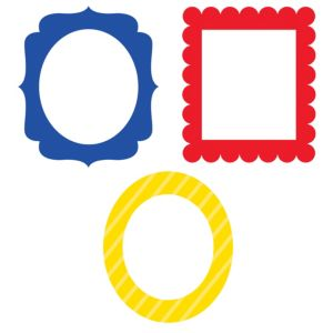 Photo Booth Frames 3ct