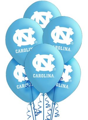 North Carolina Tar Heels Balloons 10ct