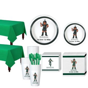 Michigan State Spartans Basic Party Kit for 40 Guests