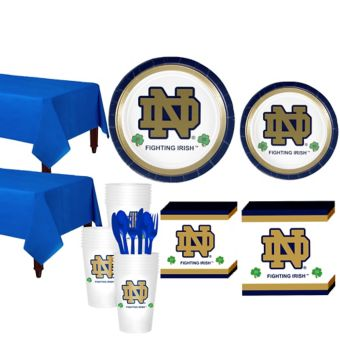 Notre Dame Fighting Irish Basic Party Kit for 40 Guests