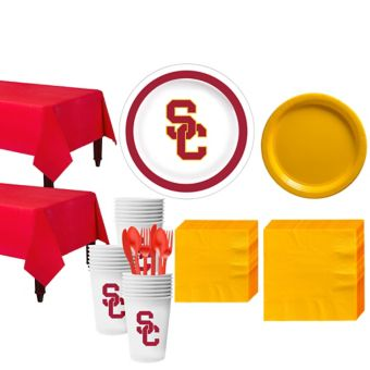 USC Trojans Basic Party Kit for 40 Guests