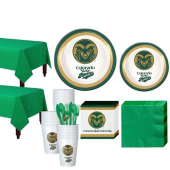 Colorado State Rams Basic Party Kit for 40 Guests