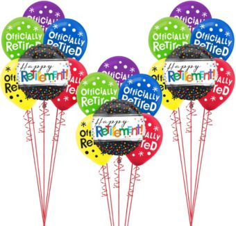 Happy Retirement Celebration Balloon Kit