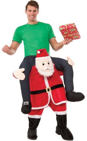 Adult Santa Ride-On Costume
