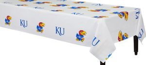 Kansas Jayhawks Table Cover