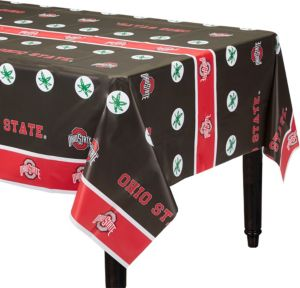 Ohio State Buckeyes Table Cover