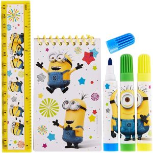 Despicable Me Stationery Set 5pc