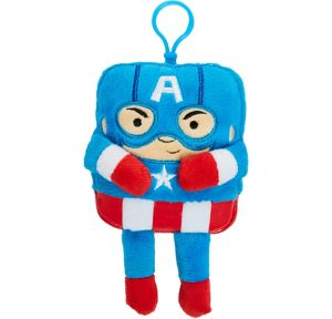 Clip-On Square Captain America Plush - Avengers