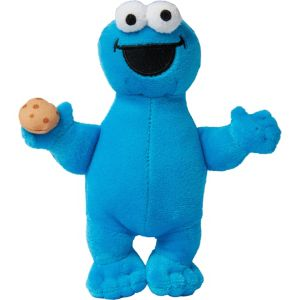 Mini Cookie Monster Plush - Sesame Street
