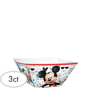 Mickey Mouse Serving Bowls 3ct