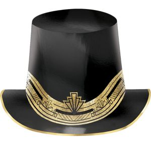 Metallic Hollywood Top Hat