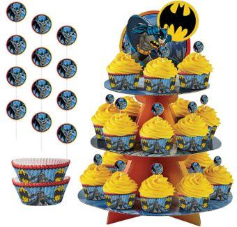 Batman Cupcake Kit for 24