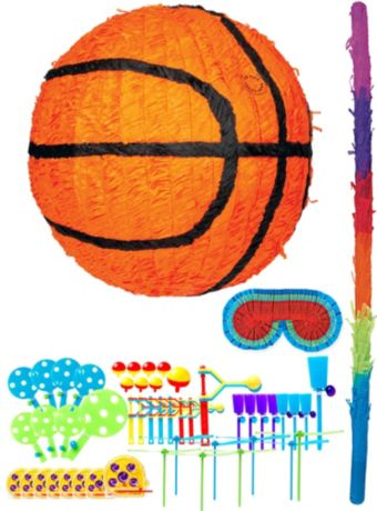 Basketball Pinata Kit with Favors