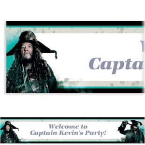 Custom Pirates of the Caribbean Banner