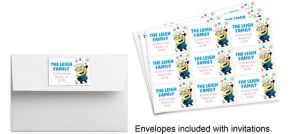 Custom Despicable Me 3 Stickers