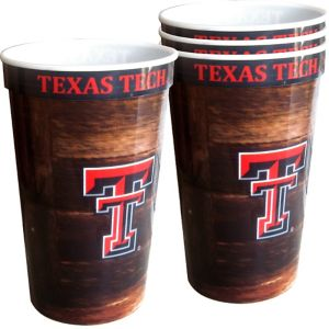 Texas Tech Red Raiders Plastic Cups 4ct