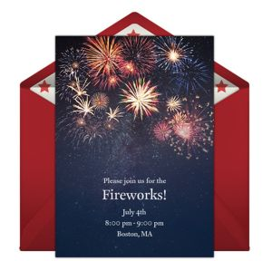Online July 4th Invitations