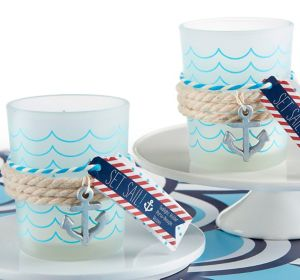 Nautical Tealight Candle Holders 8ct