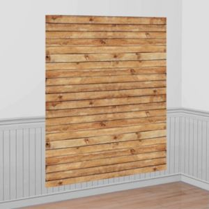 Wood Grain Scene Setter