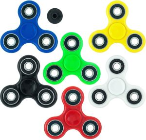 3-Sided Fidget Spinner with Connector