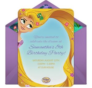 Online Tangled The Series Invitations