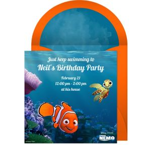 Online Finding Nemo Invitations