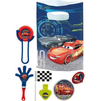 Cars 3 Basic Favor Kit for 8 Guests